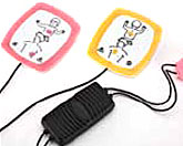Replacement Infant/Child Reduced Energy Defibrillation Electrodes